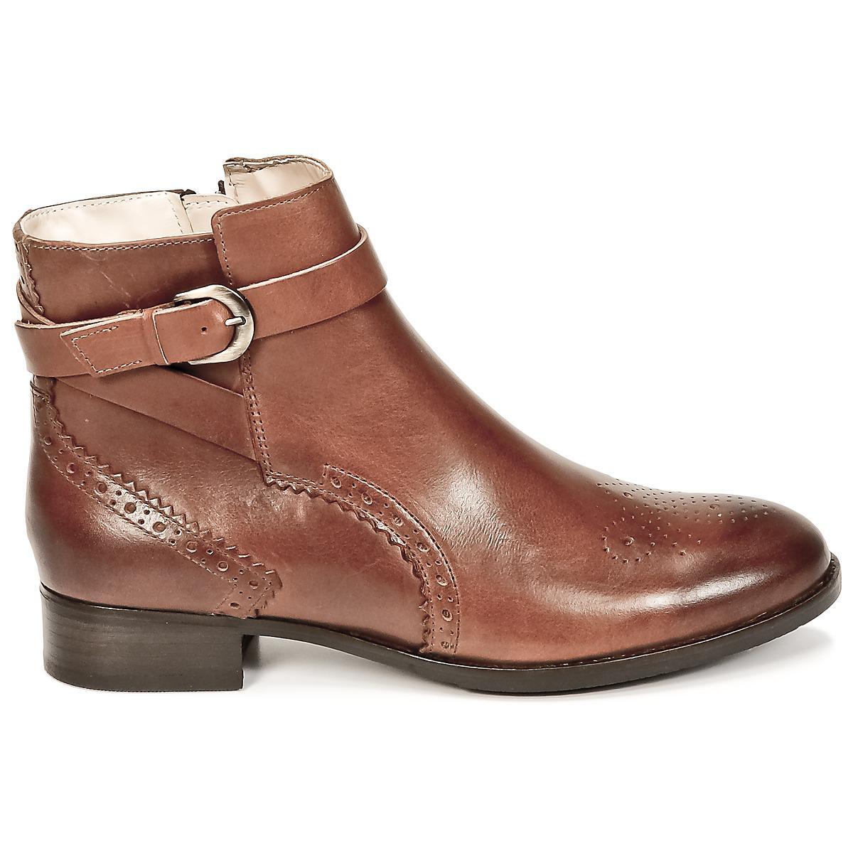 NETLEY OLIVIA Boots Cuir Clarks en coloris Marron - 7 % de réduction