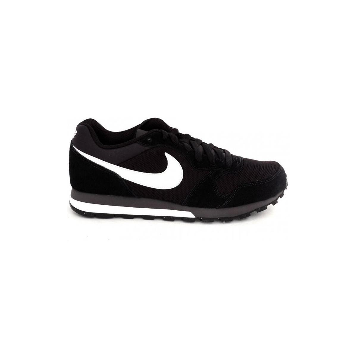 Nike Md Runer 2 Men's Shoes (trainers) In Black for Men
