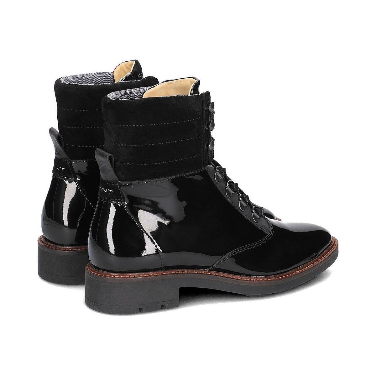 GANT Emilia Women's Mid Boots In Black