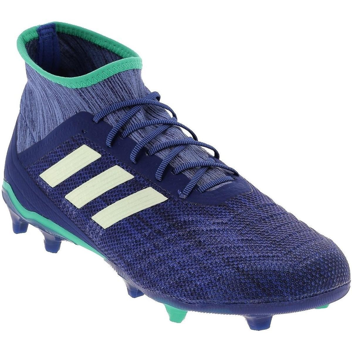 Predator 18.2 fg bleu Chaussures de foot adidas pour homme en ...
