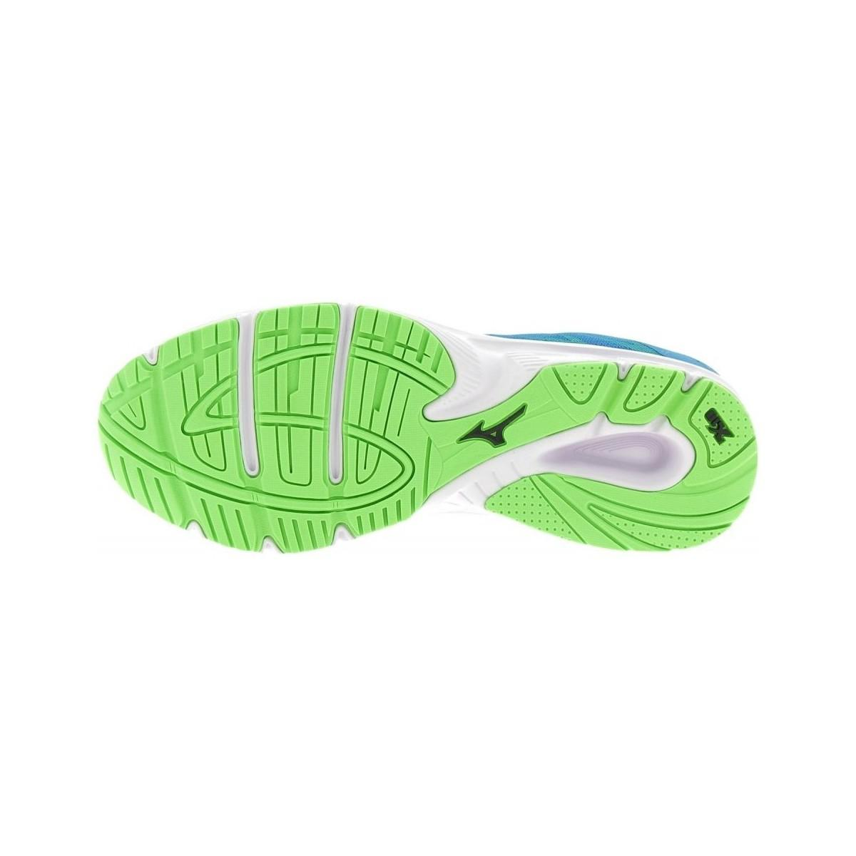 Mizuno Ezrun gris bleu blanc rouge Femmes Running Training Chaussure Sneaker J1GF1838-07