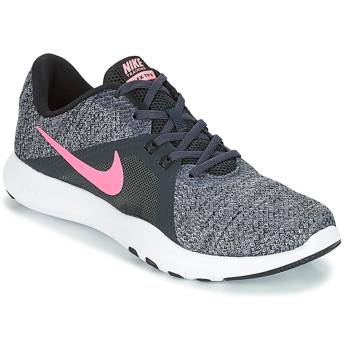 07d6625d14 Nike Flex Tr 8 W Trainers in Black - Lyst
