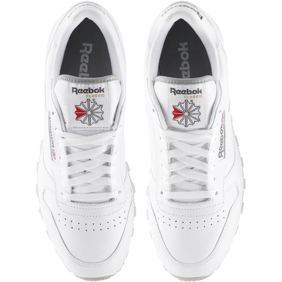 Reebok Classic Leather Men's Shoes (trainers) In White for Men