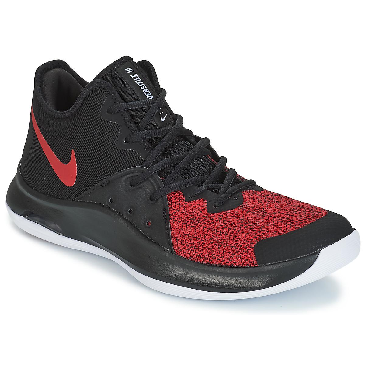 909a3f31c19 Nike Air Versitile Iii Men's Basketball Trainers (shoes) In Black in ...