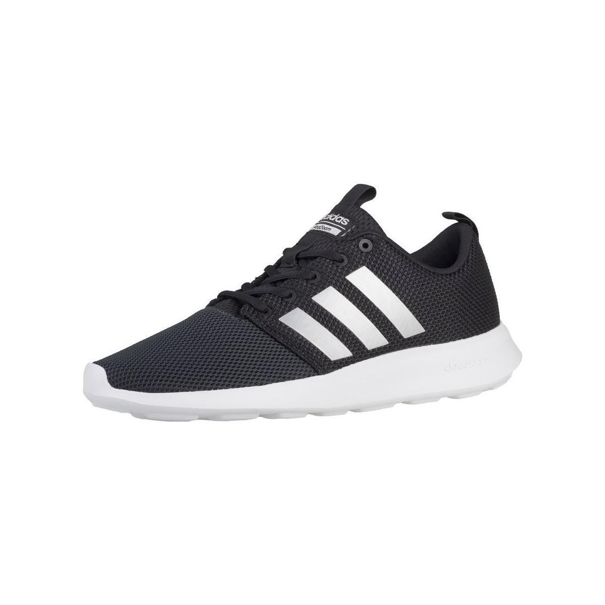 12bfa16079be4 adidas Cloudfoam Swift Racer Men s Shoes (trainers) In Black in ...