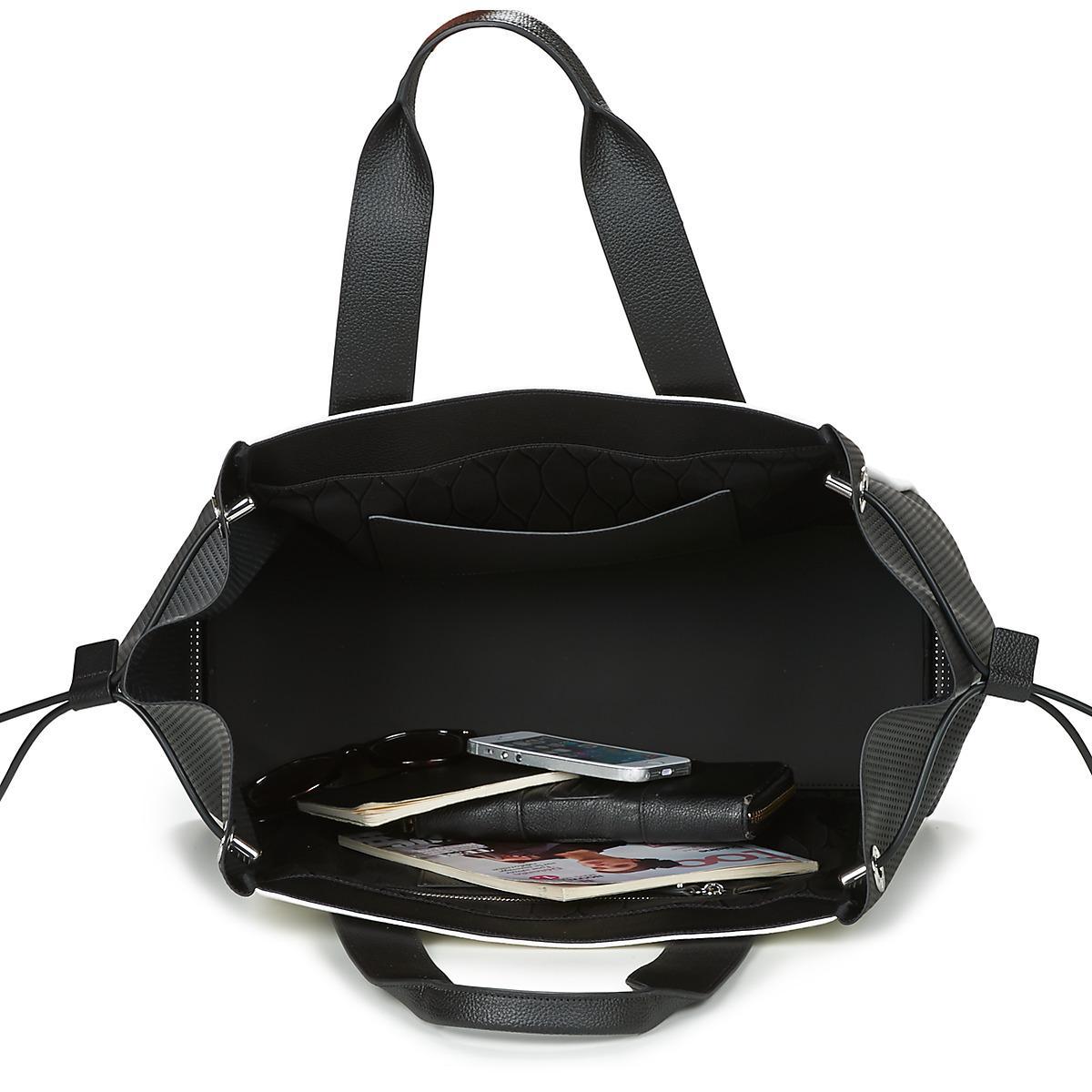 KENZO Kanvas Tote Large Bag Women's Shopper Bag In Black