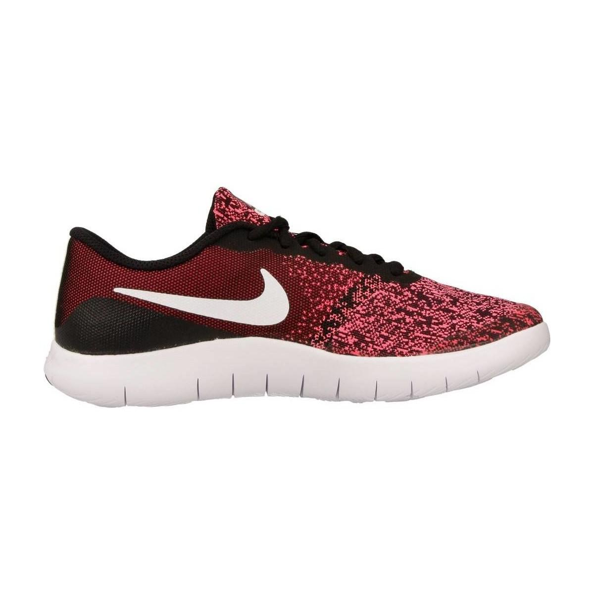 Nike Flex Contact (gs) Women's Shoes (trainers) In Red