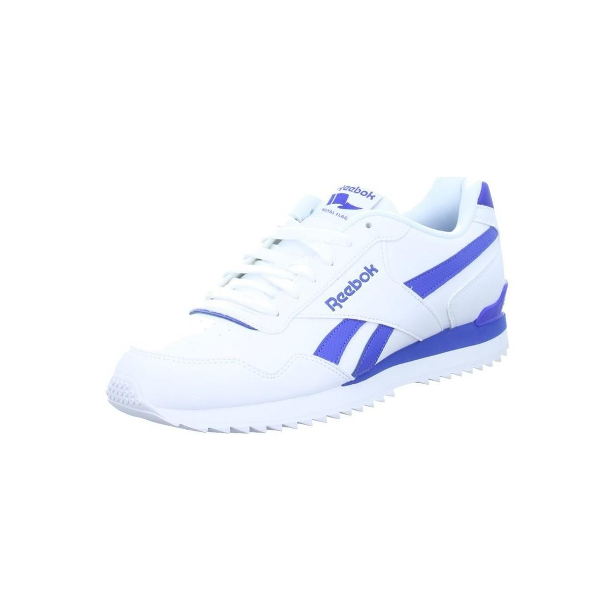 c2a0f039ee6 Reebok Royal Glide Rplclp Men s Shoes (trainers) In White in White ...
