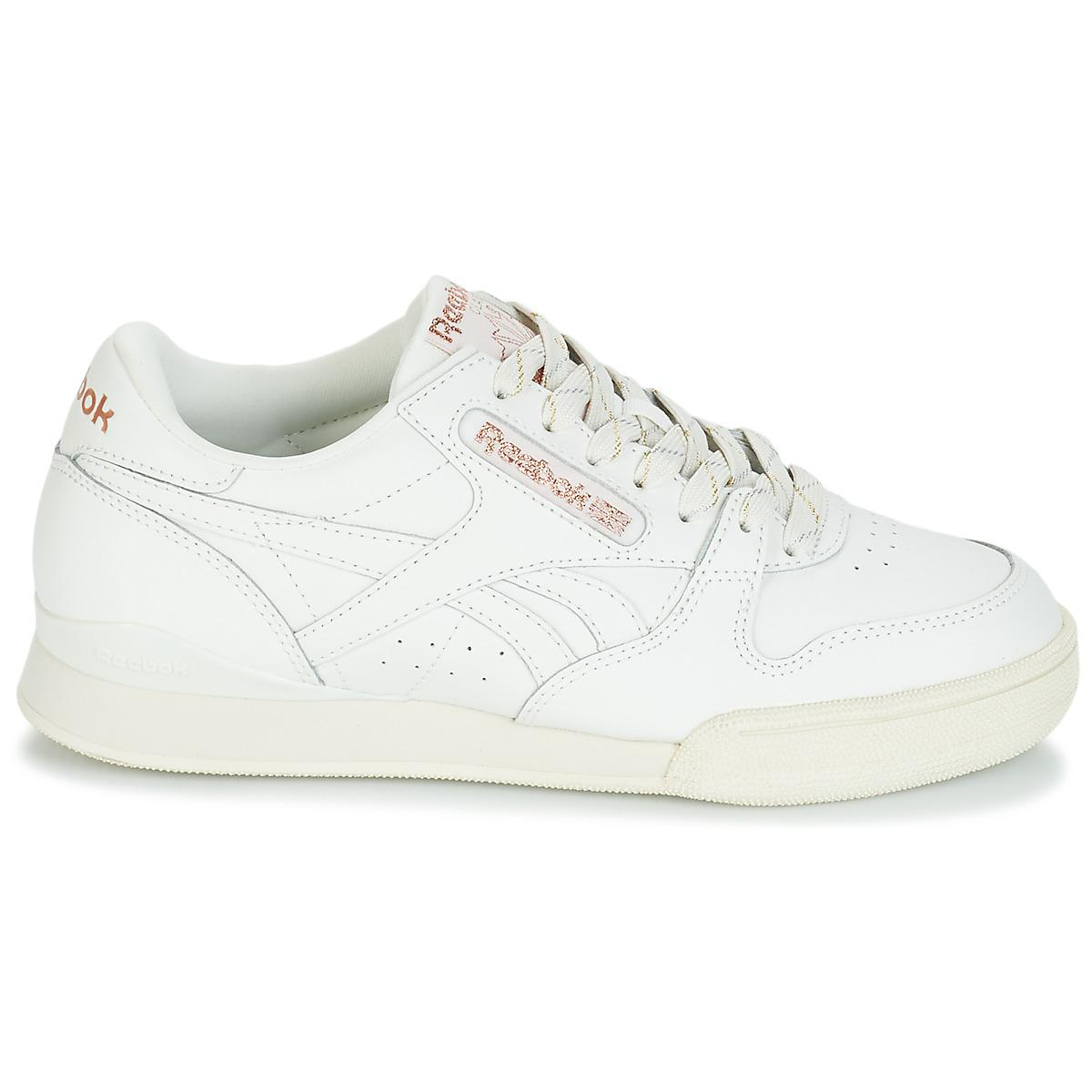 72bce18d5c1 Reebok - White Phase 1 Pro Shoes (trainers) - Lyst. View fullscreen