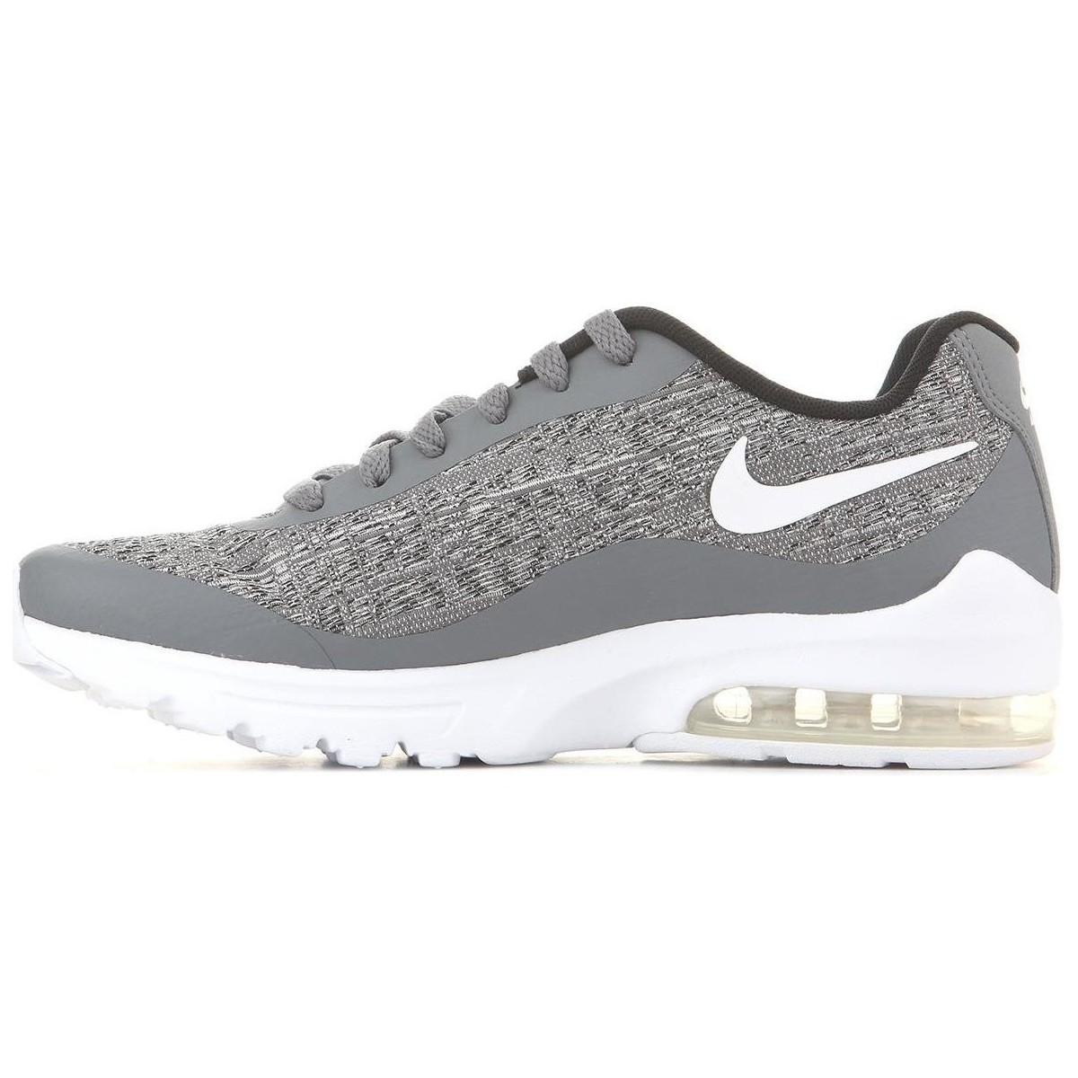 Nike Gray Wmns Air Max Invigor Wvn 917544 001 Women's Shoes (trainers) In Grey