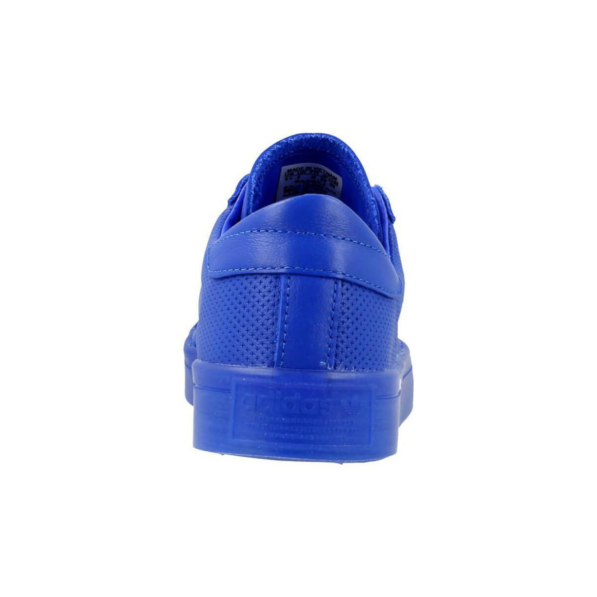 adidas Courtvantage Adicolor Women's Shoes (trainers) In Blue