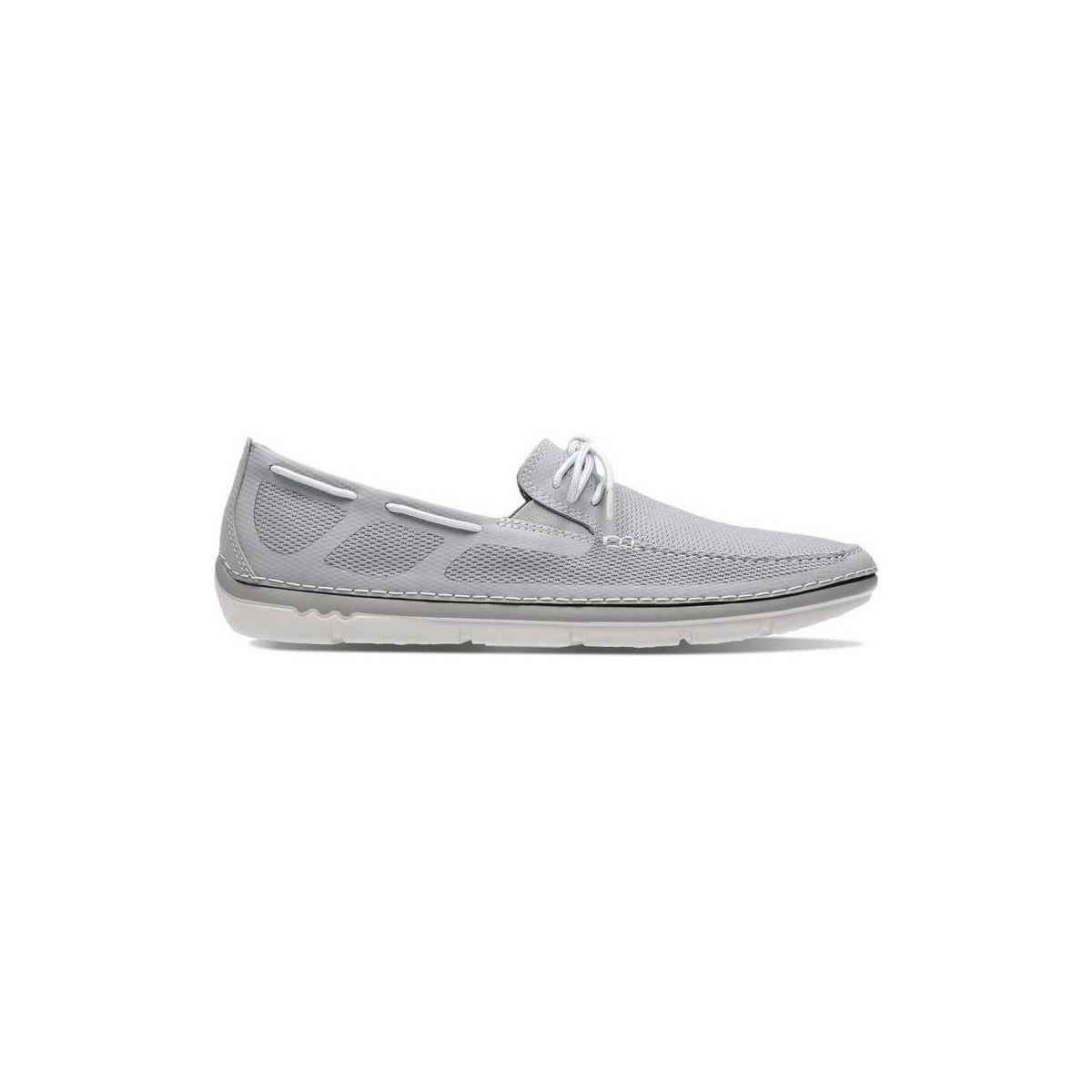 1109ad8d3f5f Clarks Step Maro Wave Men s Shoes (trainers) In Grey in Gray for Men ...
