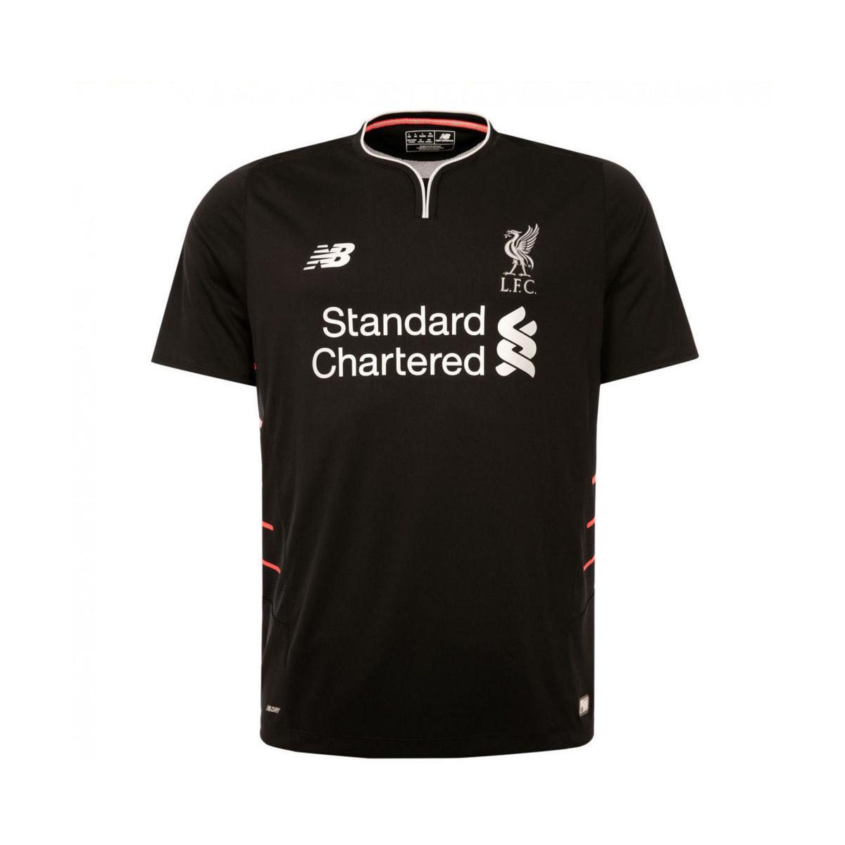 3131bd76a New Balance 2016-2017 Liverpool Away Football Shirt (kids) Women s T ...