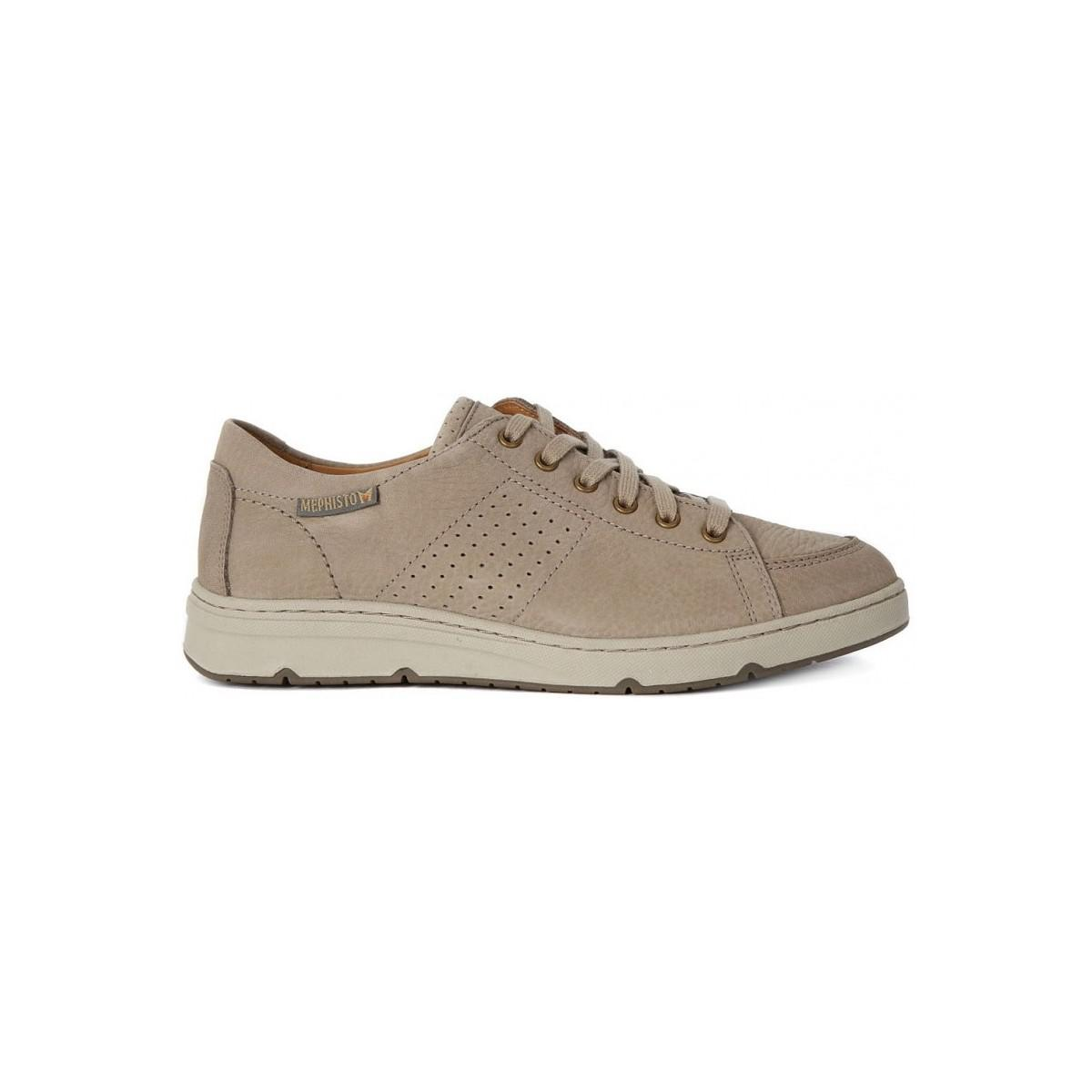 Mephisto Jerome Sportbuck Men's Shoes (trainers) In Beige in Natural for Men