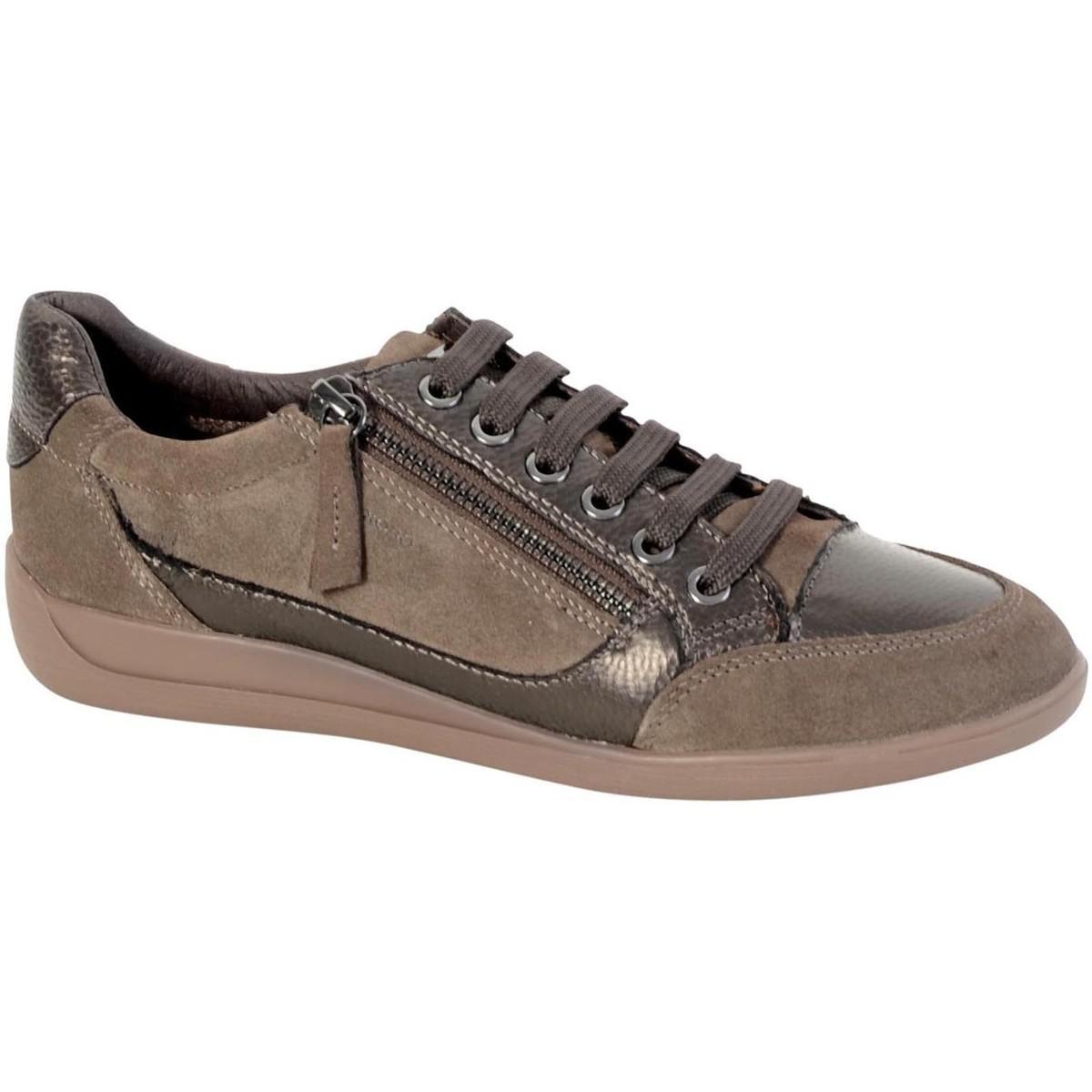 Geox Sneakers d Myria Has D6468a 022pv C6j1g Chestnutgun