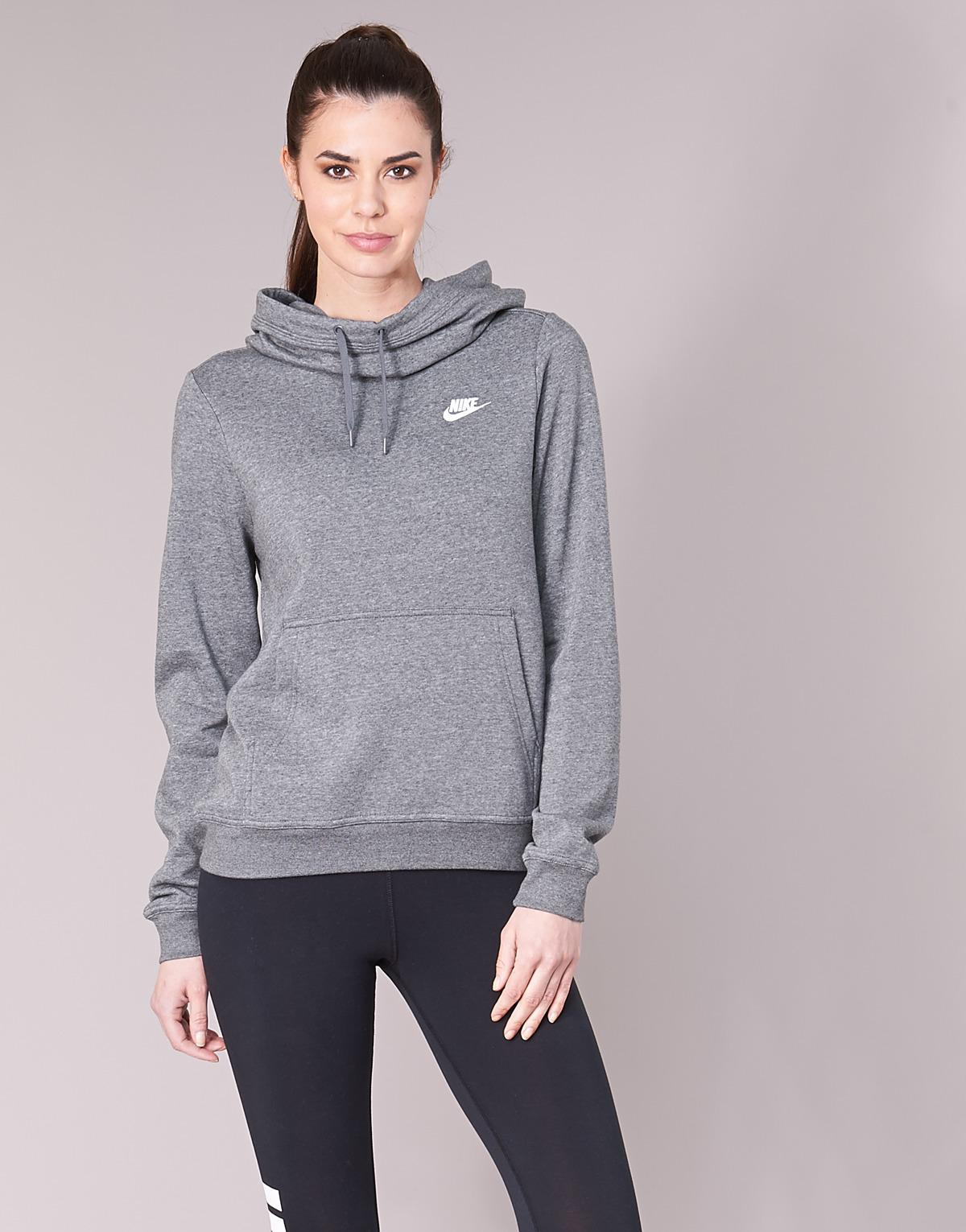 b42ab0feec75 Nike Funnel Fleece Sweatshirt in Gray - Save 8% - Lyst