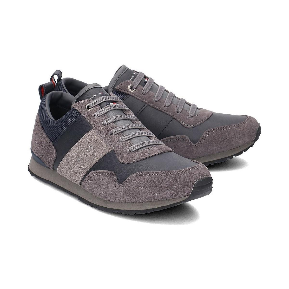 Tommy Hilfiger Maxwell 11c5 Women s Shoes (trainers) In Grey in Gray ... 478b460b69