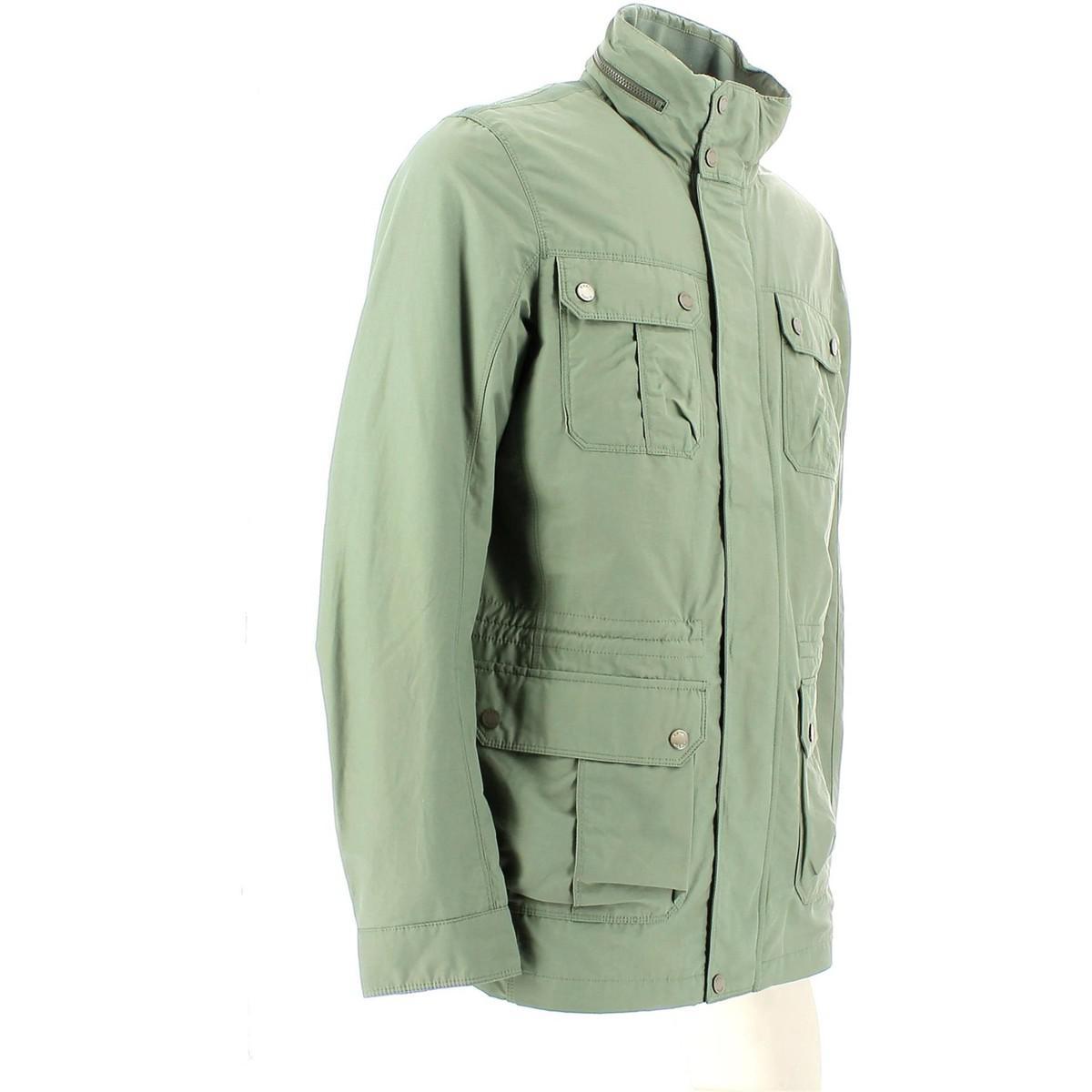 Geox M5220f T0295 Jacket Man Salvia Men's Parka In White for Men