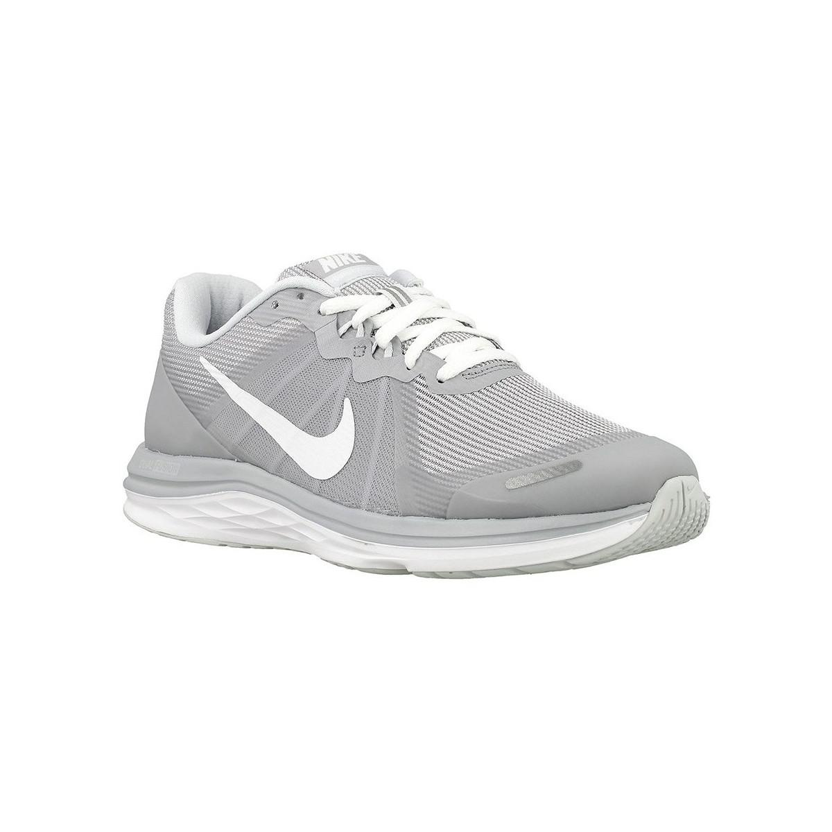Nike Wmns Dual Fusion X Women s Running Trainers In Grey in Gray - Lyst 786b656dbe