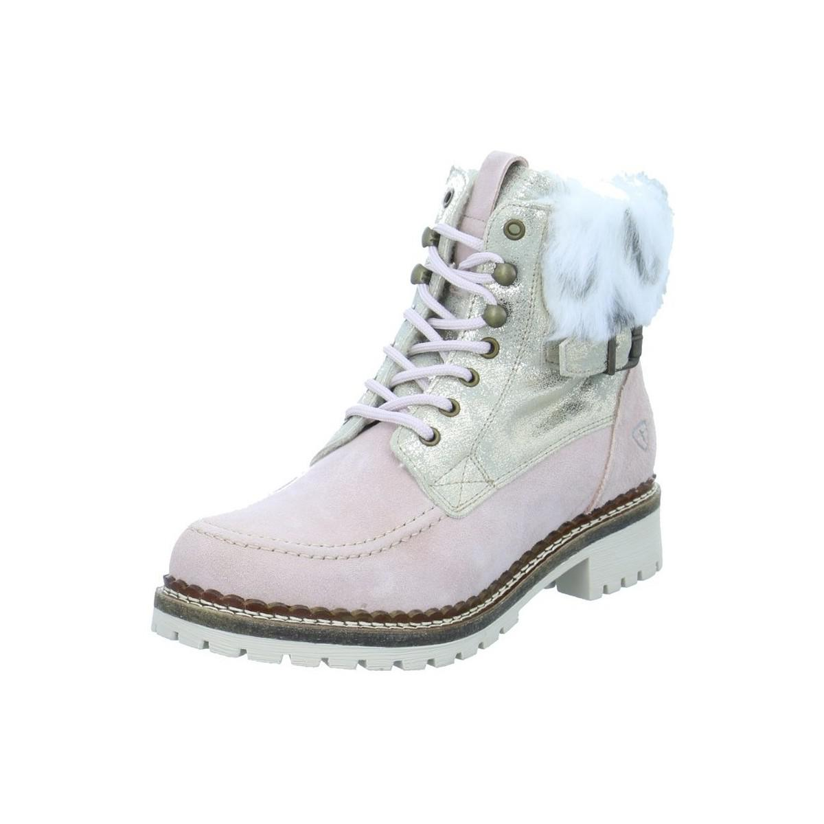 wholesale dealer 212dc d115f Tamaris Liv Women's Snow Boots In Pink in Pink - Lyst