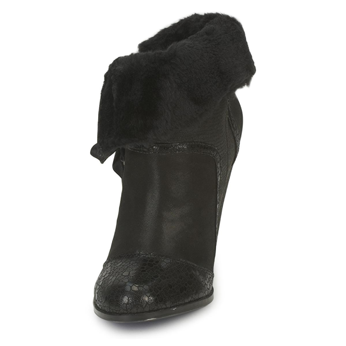 Poetic Licence Leather Most Wanted Women's Low Ankle Boots In Black