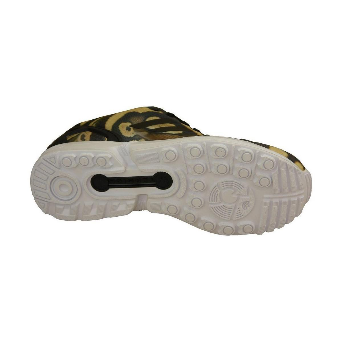 adidas Zx Flux Women's Shoes (trainers) In Brown
