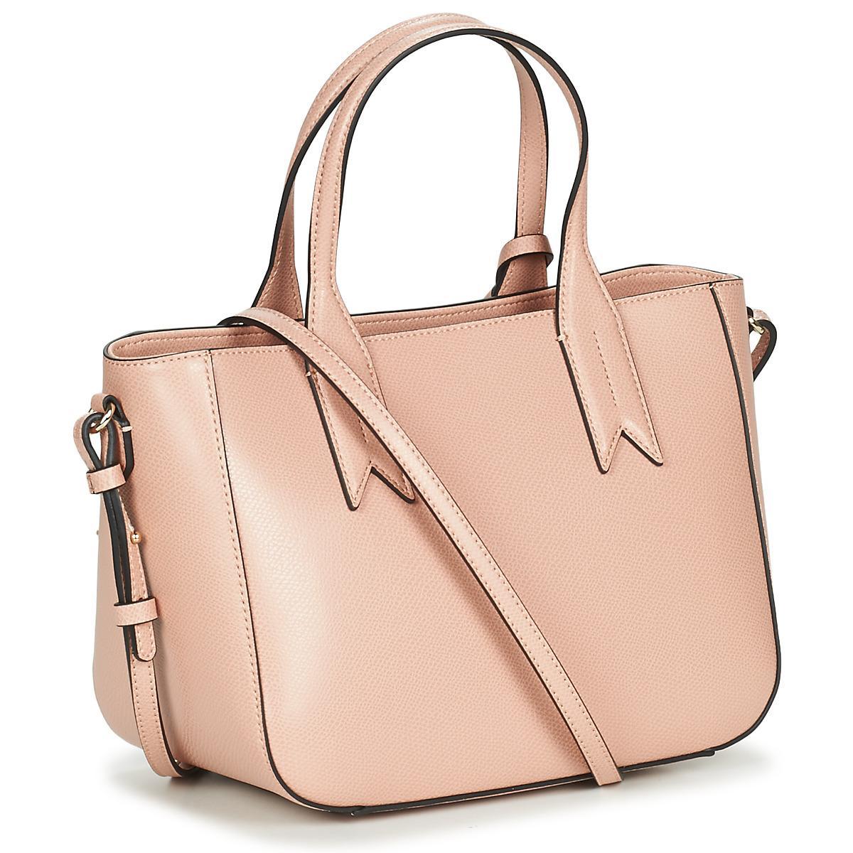 e68809dfaf1c Emporio Armani - Pink FRIDA SMALL TOTE femmes Sac à main en rose for Men -.  Afficher en plein écran