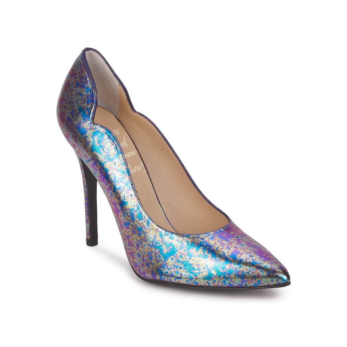 453e844bf7 Minna Parikka Hile Women s Court Shoes In Multicolour in Blue - Lyst