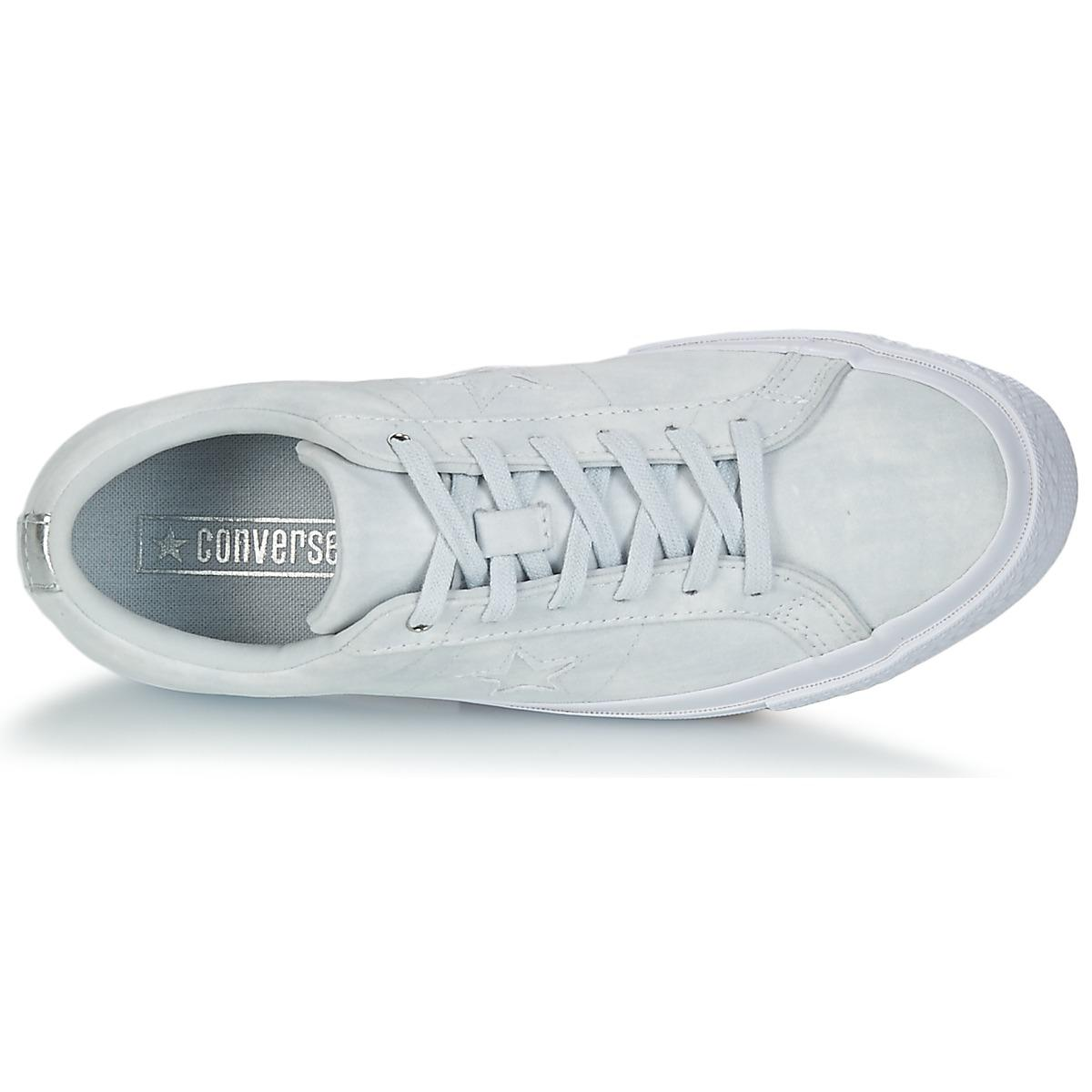 Converse One Star Shoes (trainers) in White - Save 26%
