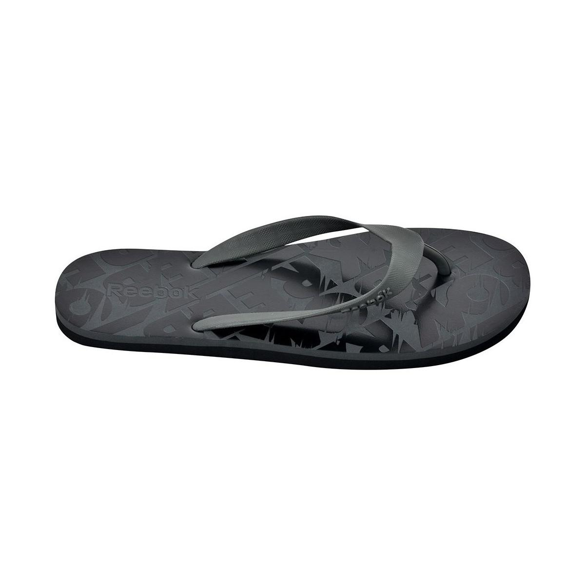 4a1273bcfe7a3a Reebok Transition Flip Men s Flip Flops   Sandals (shoes) In Black ...