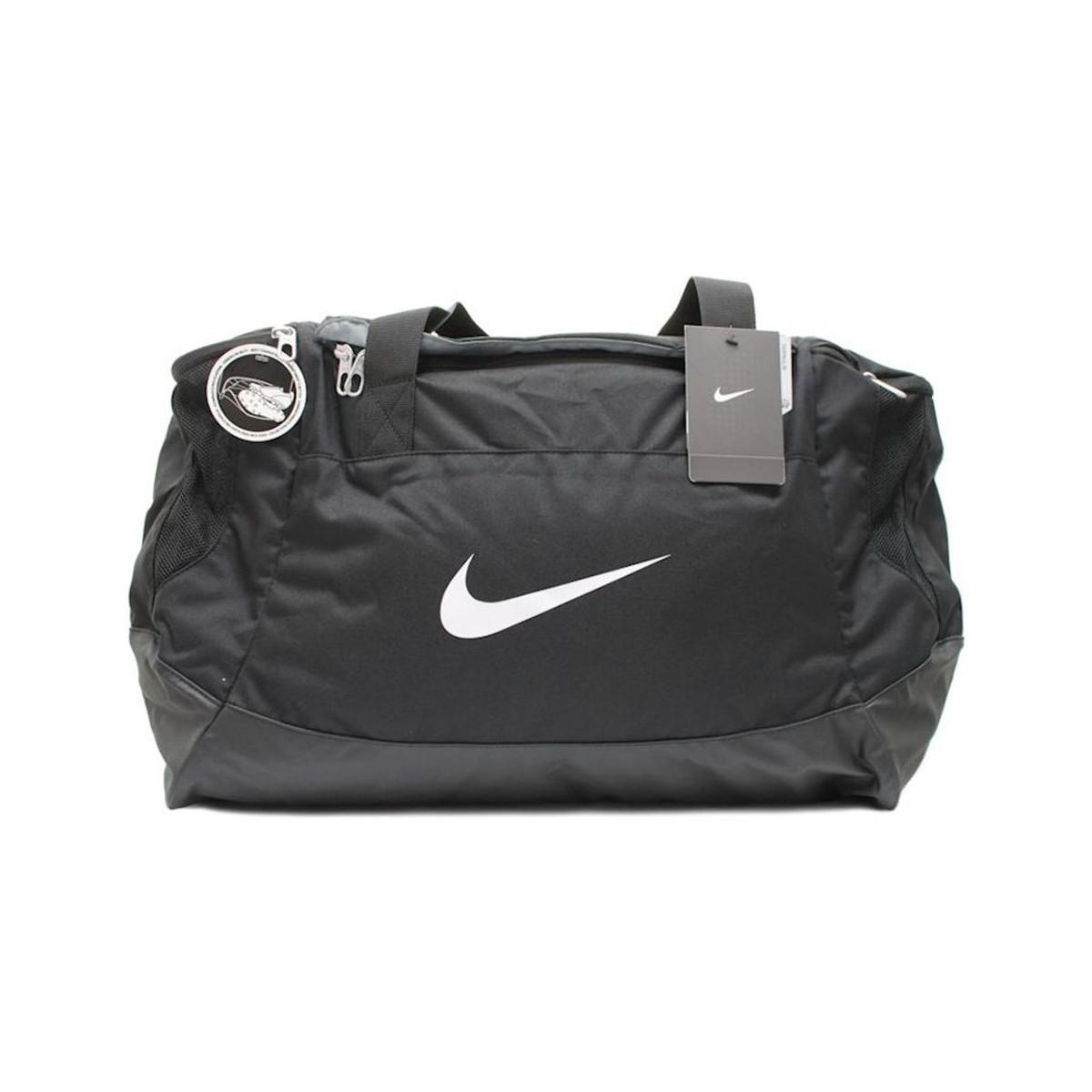 fc0b5747a656 Nike Club Team Swoosh Men s Sports Bag In Black in Black for Men - Lyst
