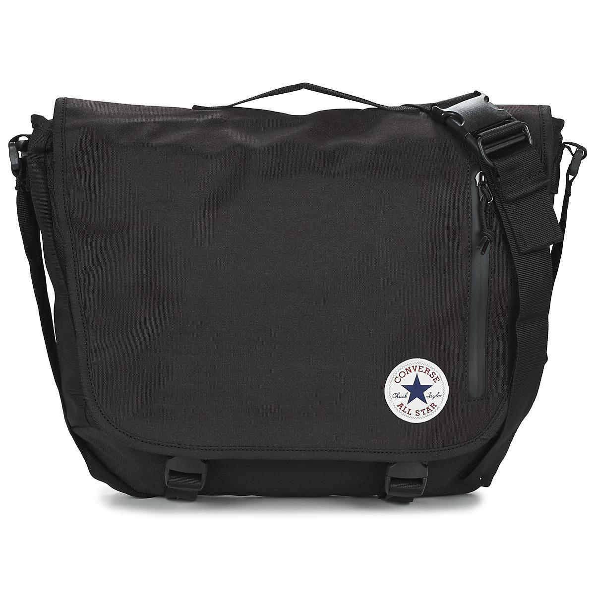 4982b8c452 Converse Core Poly Messenger Men s Messenger Bag In Black in Black ...