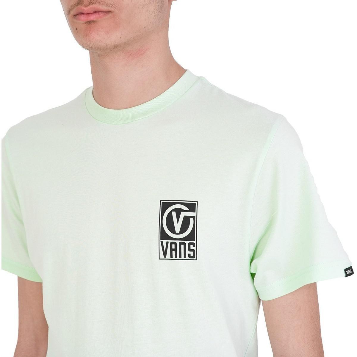 06f04ce0dd6e8a Vans Ha9p0n Worldwide Tshirt Men s T Shirt In Green in Green for Men ...
