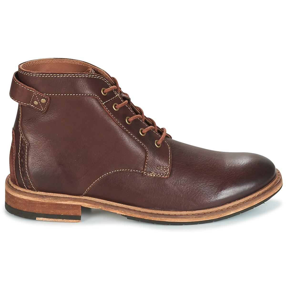 CLARKDALE BUD Boots Clarks pour homme en coloris Marron