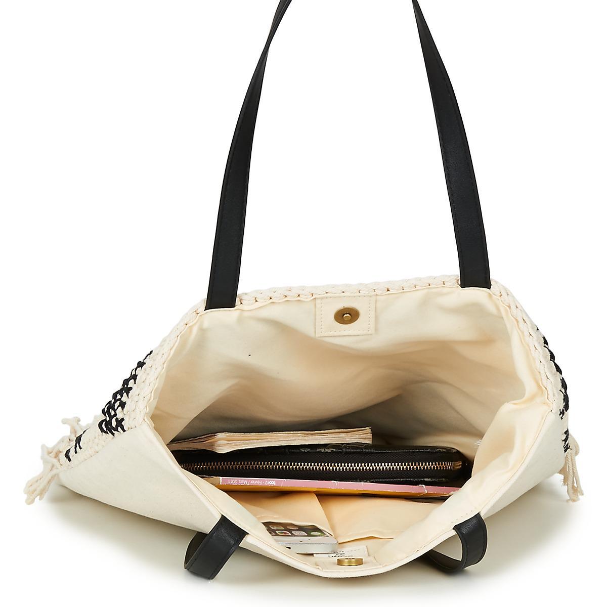 6f083a525a1e Billabong - Beach Comber Women s Shoulder Bag In White for Men - Lyst. View  fullscreen