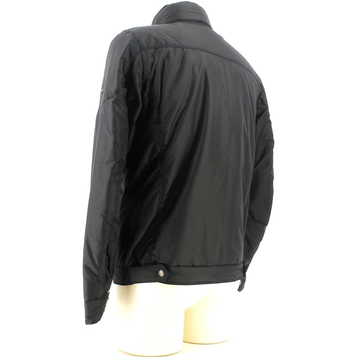 Geox M4420e T0579 Jacket Man Black Men's Windbreakers In Black for Men