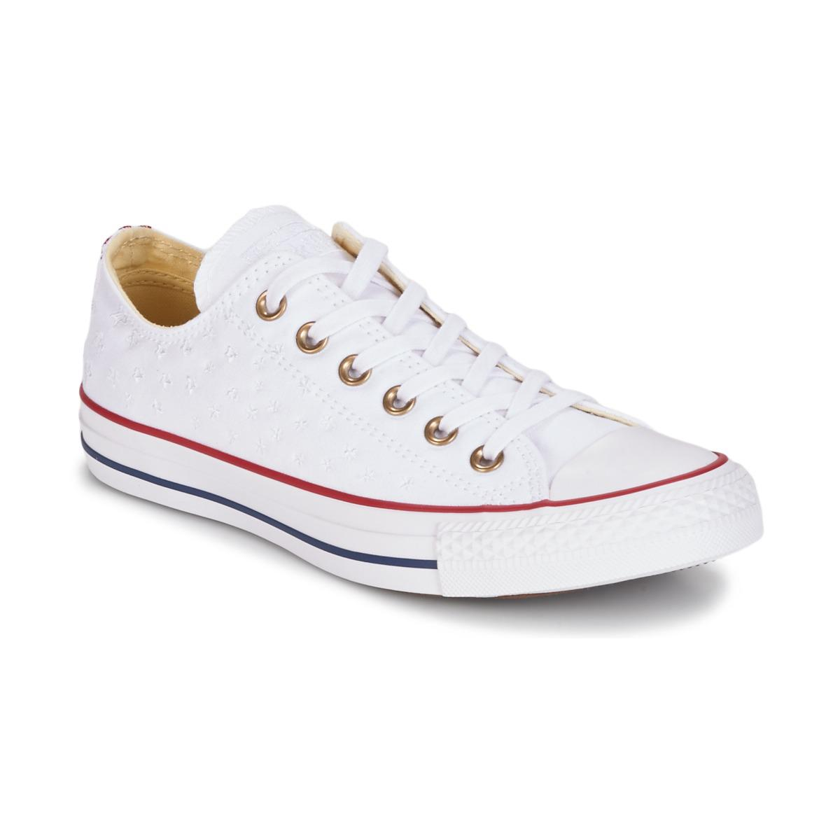 87711a253ee0 Converse Chuck Taylor All Star Americana Embroidery Ox Women s Shoes ...