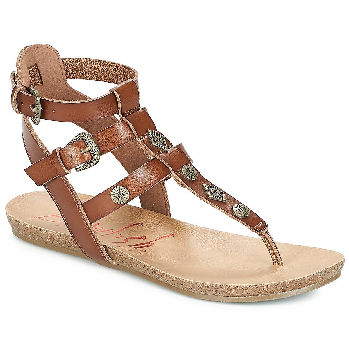 88630ff40b9 Blowfish Malibu Glamm Sandals in Brown - Lyst