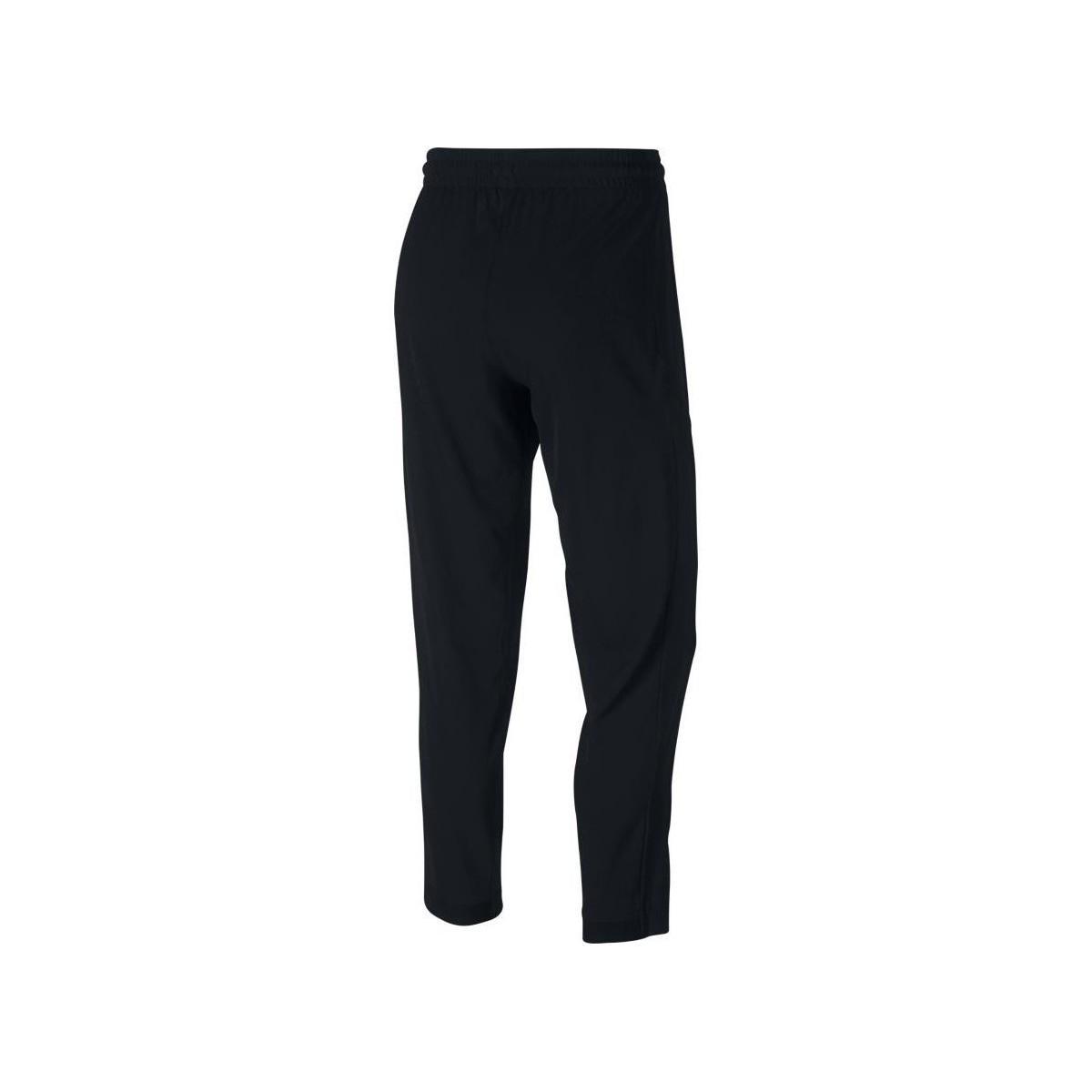 Nike Trainingsbroek Flex Basketball Pants in het Zwart voor heren