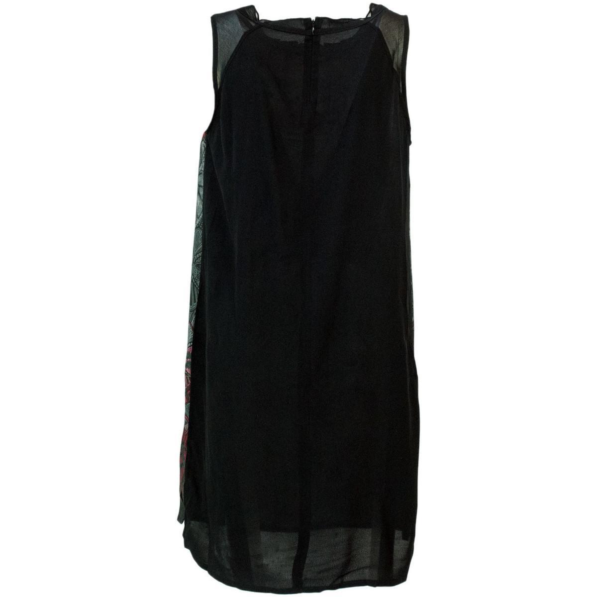 18WWVW83 Robe Desigual en coloris Noir