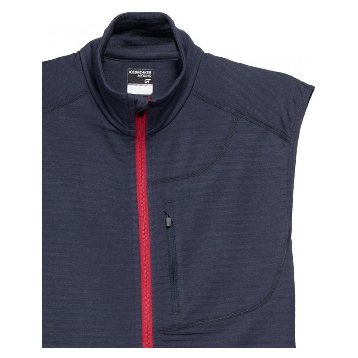 Icebreaker Vest in het Zwart voor heren