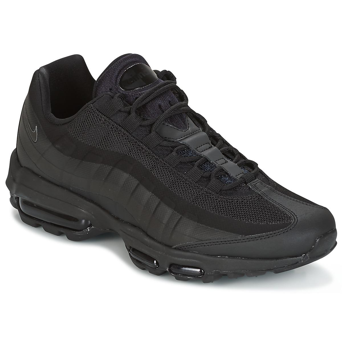 9f90097c73 Nike Air Max 95 Ultra Essential Men's Shoes (trainers) In Black in ...