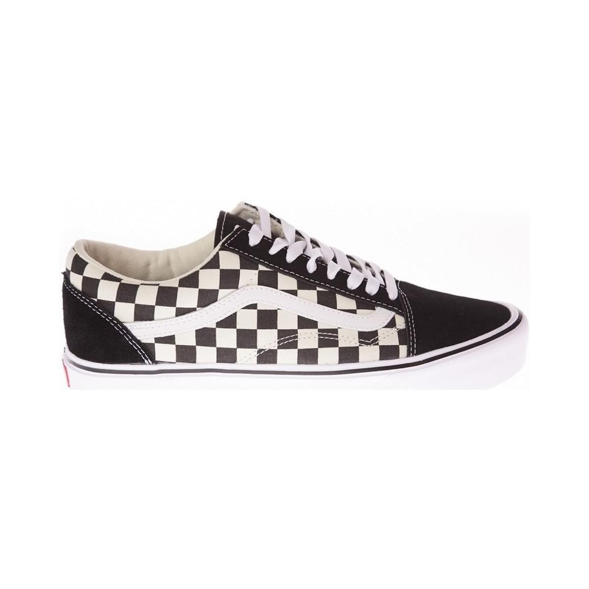 Vans Ua Old Skool Lite Men's Shoes (trainers) In Black for Men