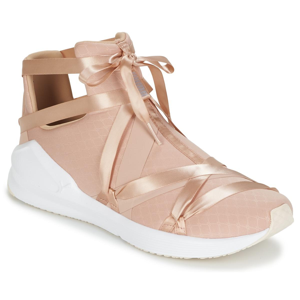bca4996453f4b2 PUMA Fierce Rope Pointe Wn s Shoes (high-top Trainers) in Pink ...