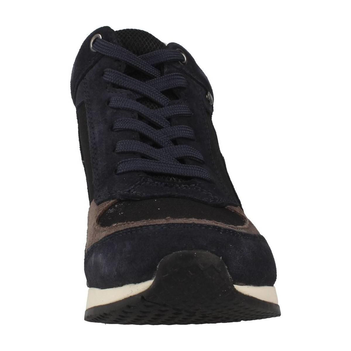 Geox D Nydame A Women's Shoes (trainers) In Blue