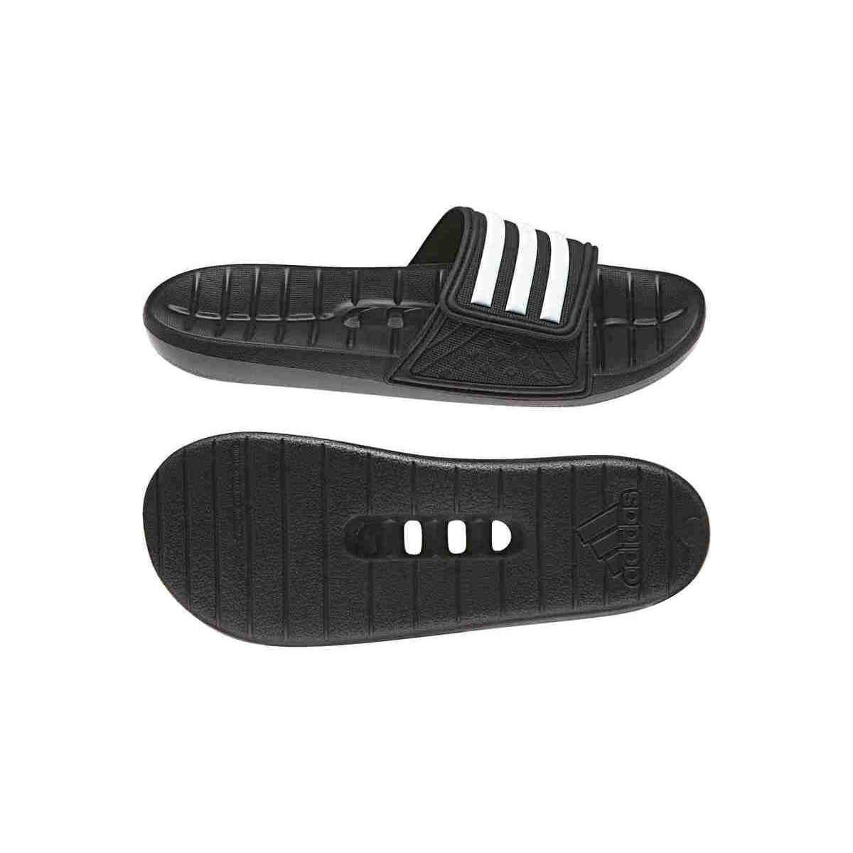 8457730c6a480 Adidas Kyaso Adj Men s Mules   Casual Shoes In Black in Black - Lyst