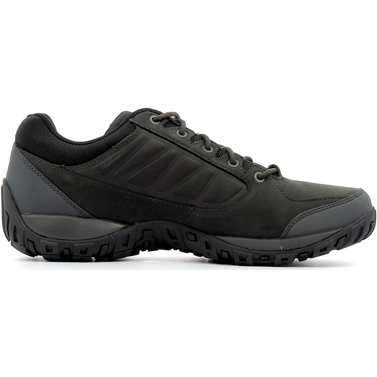 Columbia Lage Sneakers Ruckel Ridge Plus Waterproof in het Zwart voor heren
