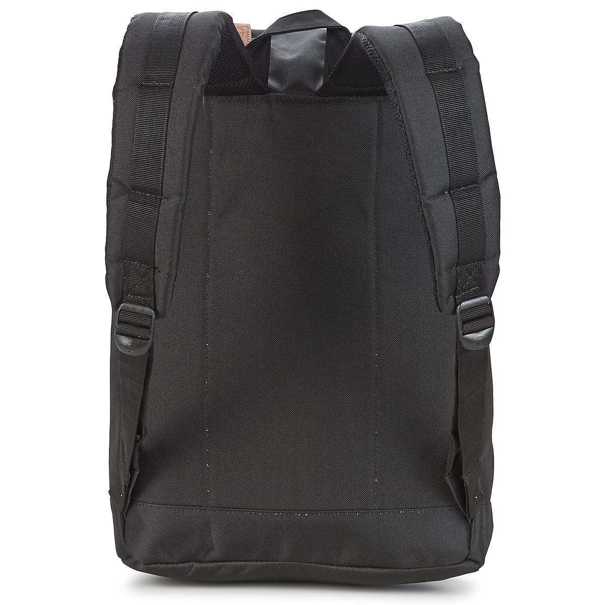 Herschel Supply Co. Synthetic Retreat Straps Backpack Rucksack Bag Men's Backpack In Black - Save 16%