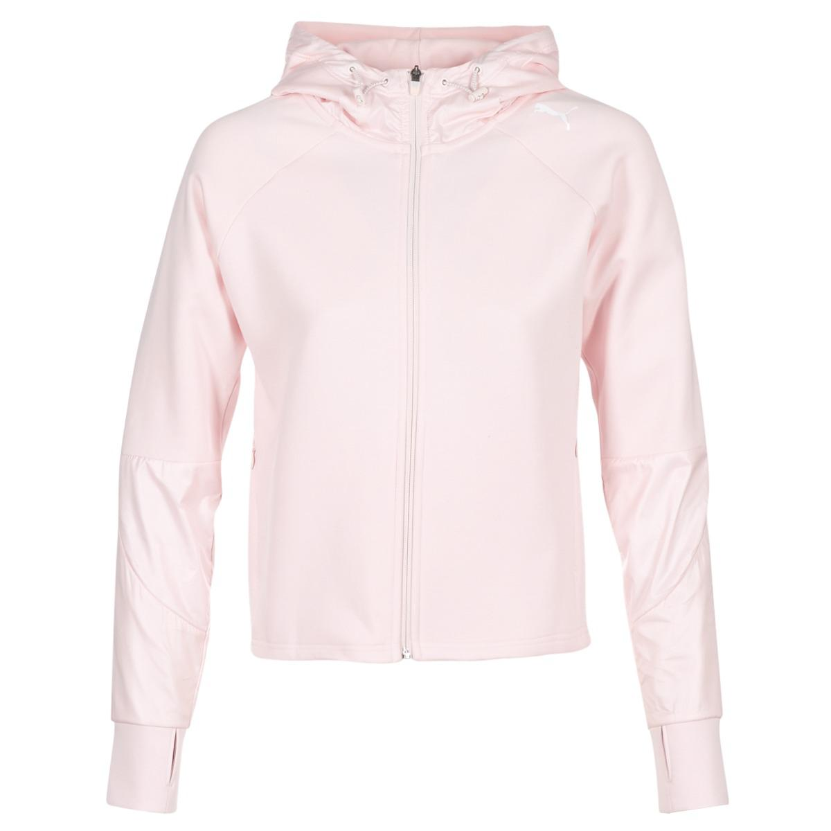 439e9e1424 PUMA Evostripe Fz Jacket Women's Sweatshirt In Pink - Lyst