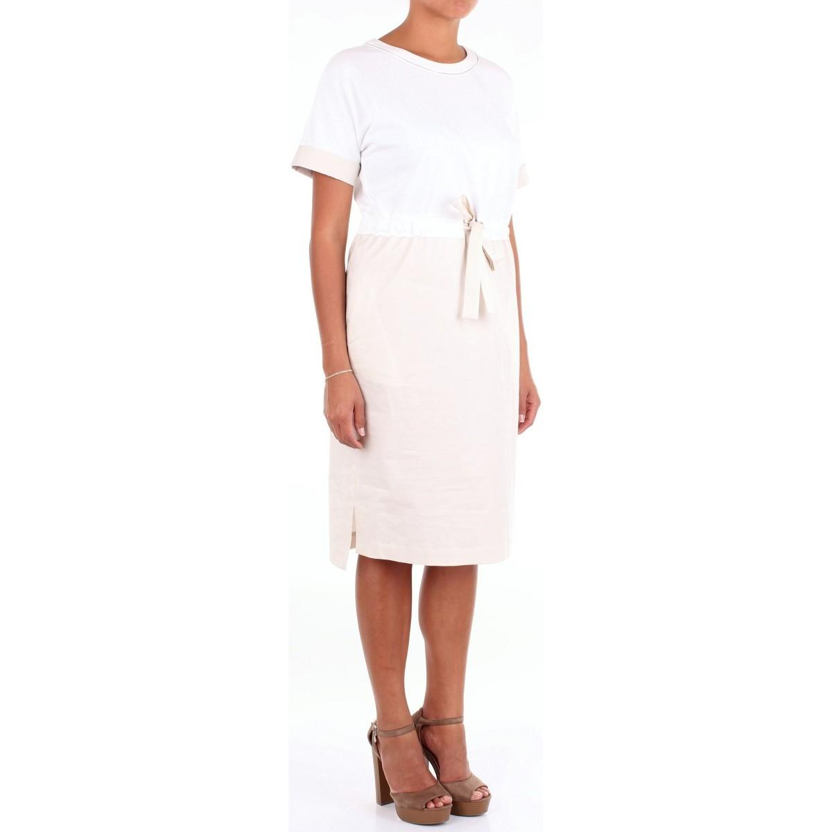 S02336J0D5667 Robe Peserico en coloris Blanc